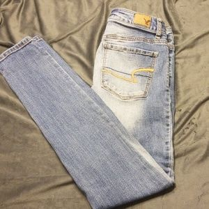 American Eagle High Rise Super Stretch Jeggings